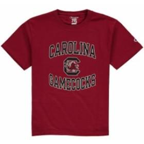 Champion チャンピオン スポーツ用品  Champion South Carolina Gamecocks Youth Garnet Circling Team Jersey T-Shirt