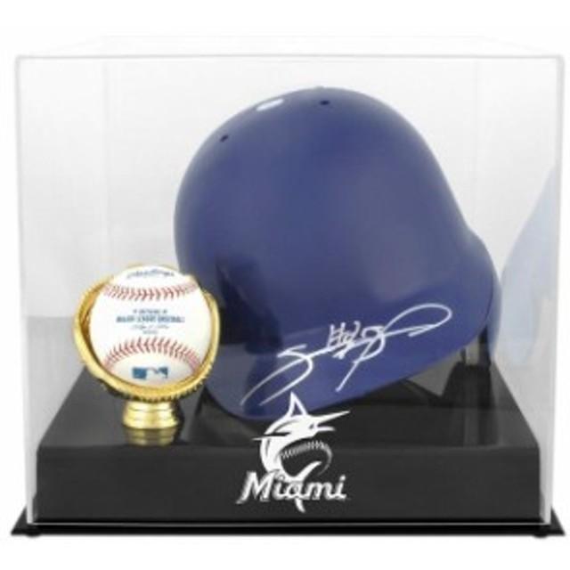 Fanatics Authentic ファナティクス オーセンティック スポーツ用品  Miami Marlins Batting Helmet with Ball Hol