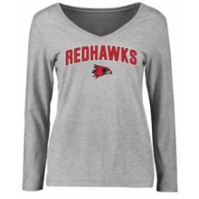 Fanatics Branded ファナティクス ブランド スポーツ用品  S.E. Missouri State Redhawks Womens Ash Proud Mascot Lon