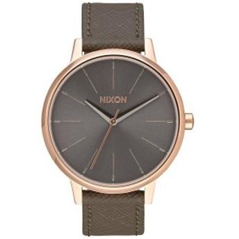 ニクソン NIXON ケンジントンレザー KENSINGTON LEATHER 腕時計 レディース ローズゴールド/トープ NA1082214-00