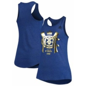 Reebok リーボック スポーツ用品  Reebok Conor McGregor UFC Womens Royal Fighter Specific Tri-Blend Tank Top
