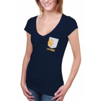 Step Ahead Sportswear ステップ アヘッド スポーツウェア スポーツ用品 Cal Bears Womens Navy Blue Team Pocket