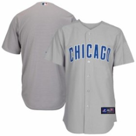 Majestic マジェスティック スポーツ用品  Majestic Chicago Cubs Gray Official Cool Base Jersey