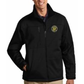 Antigua アンティグア スポーツ用品  Antigua Columbus Crew SC Black Traverse Full Zip Jacket