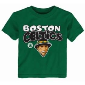Outerstuff アウタースタッフ スポーツ用品  Boston Celtics Preschool & Toddler Kelly Green Bubble Letter T-Shirt