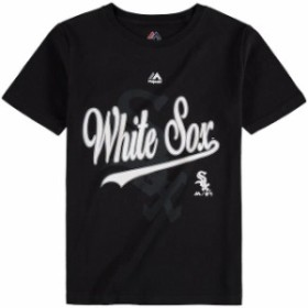 Majestic マジェスティック スポーツ用品  Majestic Chicago White Sox Youth Black At the Game T-Shirt