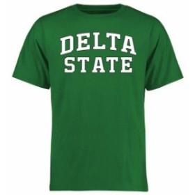 Fanatics Branded ファナティクス ブランド スポーツ用品  Delta State Statesmen Kelly Green Everyday T-Shirt