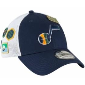 reputable site 46c1e 44c41 New Era ニュー エラ スポーツ用品 New Era Utah Jazz Navy 2018 Draft 39THIRTY Fitted Hat