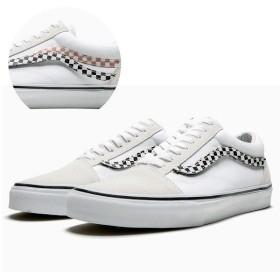 バンズ オールドスクール (Sidestripe V) [サイズ:28cm(US10)] [カラー:ホワイト] #VN0A38G1UPC VANS VANS OLD SKOOL (Sidestripe V) True White