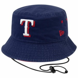New Era New Era Texas Rangers White Team Bucket Hat ニュー 帽子 エラ