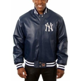JH Design ジェイエイチ デザイン スポーツ用品  JH Design New York Yankees Navy Team Color Leather Jacket