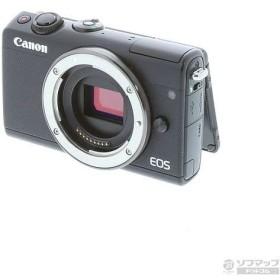 〔中古〕キヤノン(Canon) ミラーレス一眼カメラ EOS M100ブラック〔05/18(土)新入荷〕