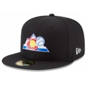New Era ニュー エラ スポーツ用品  New Era Colorado Rockies Black 2018 On-Field Prolight Batting Practice 59FIFTY Fitt