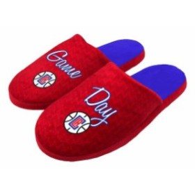 Forever Collectibles フォーエバー コレクティブル スポーツ用品  LA Clippers Womens Slogan Slippers