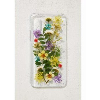 アーバンアウトフィッターズ iPhone (X)ケース Buncha Flowers iPhone X Case Clear