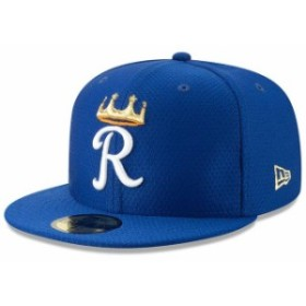 New Era ニュー エラ スポーツ用品  New Era Kansas City Royals Royal 2019 Batting Practice 59FIFTY Fitted Hat