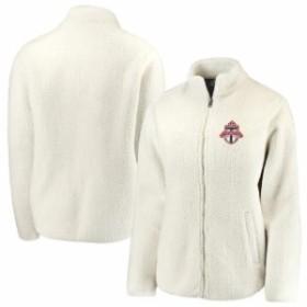 Fanatics Branded ファナティクス ブランド スポーツ用品  Fanatics Branded Toronto FC Womens Cream Sherpa Full-Zip