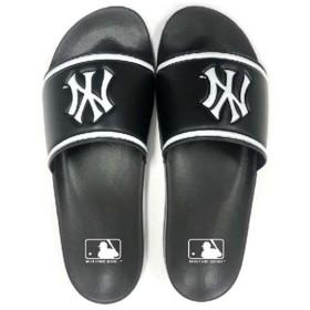 ニューヨーク・ヤンキース NY ニューヨークヤンキース MLB シャワーサンダル [サイズ:L(26.5〜27.5cm)] [カラー:ブラック] #MLB6001-BK NEW YORK YANKEES