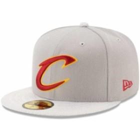 New Era ニュー エラ スポーツ用品  New Era Cleveland Cavaliers Gray Visor Fresh 59FIFTY Fitted Hat