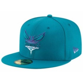New Era ニュー エラ スポーツ用品  New Era Charlotte Hornets Teal Logo Grade 59FIFTY Structured Hat
