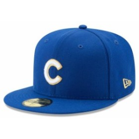 New Era ニュー エラ スポーツ用品  New Era Chicago Cubs Royal Gold City 59FIFTY Fitted Hat
