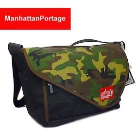 マンハッタン ポーテージ バッグ ショルダーバッグ MP1656 BK/CAMO/DBR ブラック