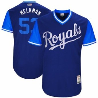 Majestic マジェスティック スポーツ用品 Majestic Melky Cabrera Melkman Kansas City Royals Royal 2017 Players Weeke