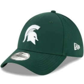 562b6d113081ab New Era ニュー エラ スポーツ用品 New Era Michigan State Spartans Green Perforated Play  39THIRTY Flex