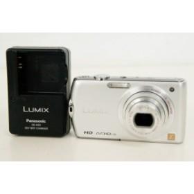 【中古】Panasonicパナソニック コンパクトデジタルカメラ LUMIXルミックス 1410万画素 DMC-FX70-S シルバー