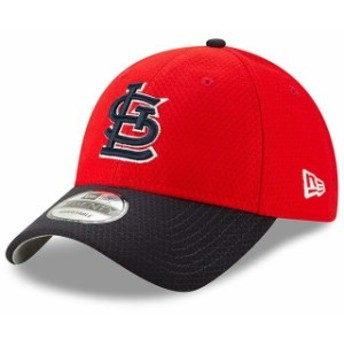 New Era ニュー エラ スポーツ用品  New Era St. Louis Cardinals Red/Blue 2019 Batting Practice 9TWENTY Adjustable Hat
