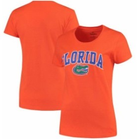Fanatics Branded ファナティクス ブランド スポーツ用品  Florida Gators Womens Orange Campus T-Shirt
