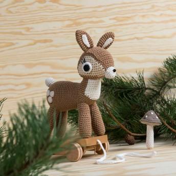 sebra(セバ)/いっしょに行こう編みぐるみプルトイ|おもちゃブルーノゾウ
