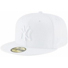 New Era ニュー エラ スポーツ用品  New Era New York Yankees White Primary Logo Basic 59FIFTY Fitted Hat