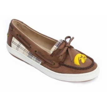 Renaissance ルネサンス スポーツ用品 Iowa Hawkeyes Womens Brown Westend One Eye Moccasins