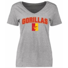 Fanatics Branded ファナティクス ブランド スポーツ用品  Pittsburg State Gorillas Womens Ash Proud Mascot T-Shirt