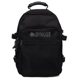 バイモスBYMOSS マキシマム リュック 3シリーズ男女兼用 (Maximum Backpack 3Series) (ブラック) 並行輸入