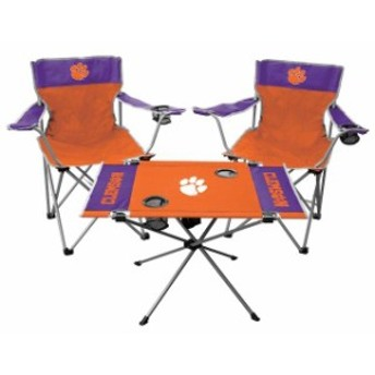 Rawlings ローリングス スポーツ用品 Rawlings Clemson Tigers Tailgate Chair And Table Set