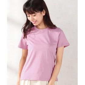 【20%OFF】 コエ ・クルーネックTシャツ レディース ピンク F 【koe】 【セール開催中】