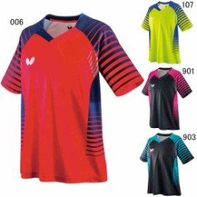 バタフライ 卓球 ユニホーム ゲームシャツ ネオルド シャツ ユニセックス  Butterfly 45450