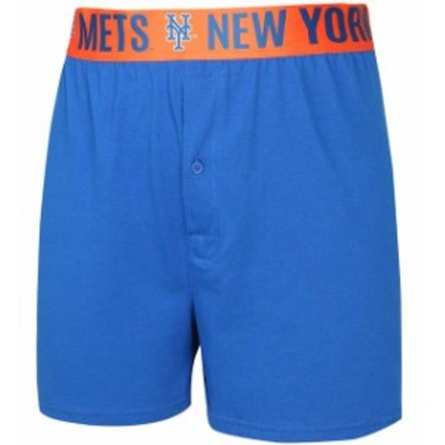 175a6438fc4 Concepts Sport コンセプト スポーツ スポーツ用品 Concepts Sport New York Mets Royal Title  Boxer Shorts