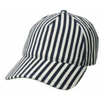 ラグ&ボーン キャップ Marilyn Baseball Cap Navy/Natural Stripe