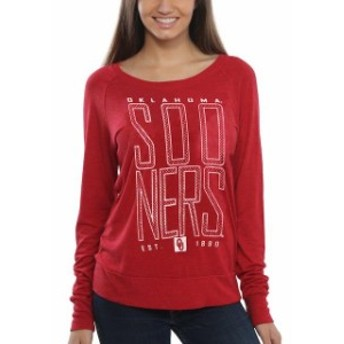 Step Ahead Sportswear ステップ アヘッド スポーツウェア スポーツ用品 Oklahoma Sooners Womens Crimson Burnou
