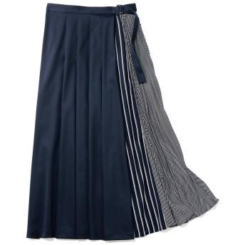 ラップデザイン プリーツスカート