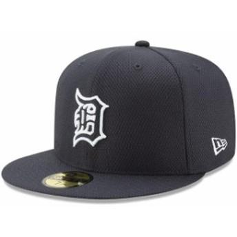 New Era ニュー エラ スポーツ用品 New Era Detroit Tigers Youth Navy Diamond Era 59FIFTY Fitted Hat
