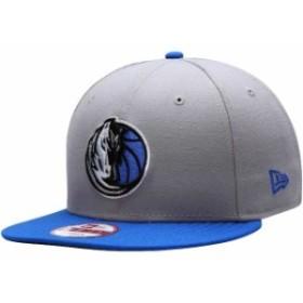 New Era ニュー エラ スポーツ用品  New Era Dallas Mavericks Gray Team 9FIFTY Snapback Adjustable Hat