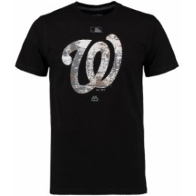 Majestic マジェスティック スポーツ用品  Majestic Washington Nationals Black Authentic Collection Clubhouse Fashion