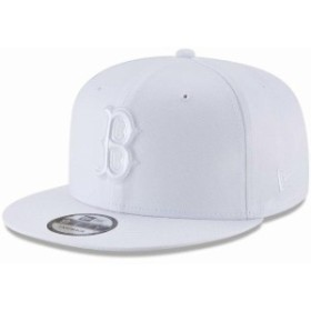 New Era ニュー エラ スポーツ用品  New Era Boston Red Sox White Basic 9FIFTY Adjustable Snapback Hat