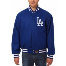 JH Design ジェイエイチ デザイン スポーツ用品  JH Design Los Angeles Dodgers Royal Team Color Wool Jacket