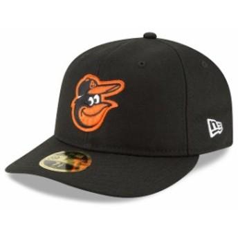 New Era ニュー エラ スポーツ用品 New Era Baltimore Orioles Black Fan Retro Low Profile 59FIFTY Fitted Hat
