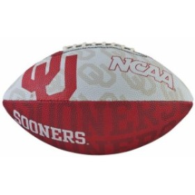 Wilson ウィルソン スポーツ用品  Wilson Oklahoma Sooners Junior Team Logo Football